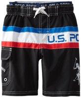 U.S. Polo Assn. U.S. Polo Association Boys 2-7 Color ...