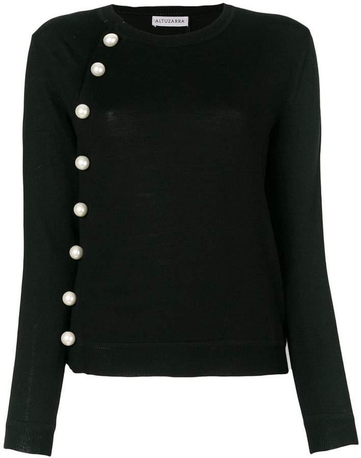 Altuzarra パールトリム セーター