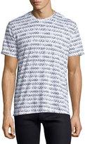 Robert Graham Skull-Print Jersey T-Shirt, White
