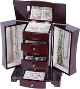Asstd National Brand Mele & Co. Cherry-Finish Jewelry Box