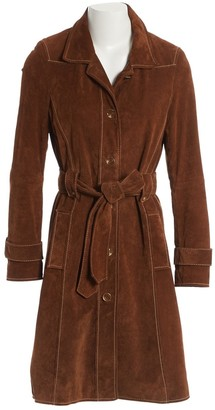 Riani Brown Suede Coats