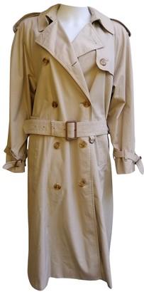 Aquascutum London Beige Trench Coat for Women Vintage