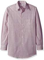 Van Heusen Men's Regular Fit Check Dress Shirt