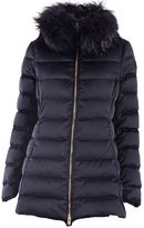 Montecore Fur Detailed Quilted Padded Jacket
