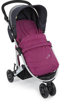Mamas and Papas Luna Mix Stroller- Orchid Seat/Denim Canopy