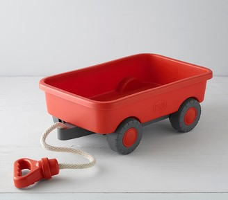 Pottery Barn Kids Green Toys Red Wagon