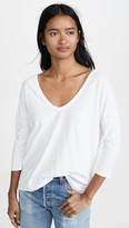 James Perse Double V Boxy Top