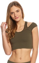 Hard Tail Mesh Layer Crop Tank 8152056