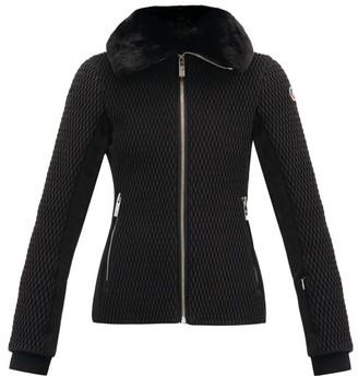 Fusalp Montana Iv Detachable Faux-fur Collar Ski Jacket - Black