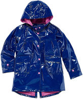 WIPPETE Wippette Girls Hooded Shiny Raincoat