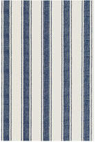 Dash & Albert Blue Awning Stripe Runner Rug - 76x244cm