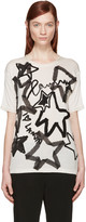 Lanvin Beige Star Appliqué T-Shirt