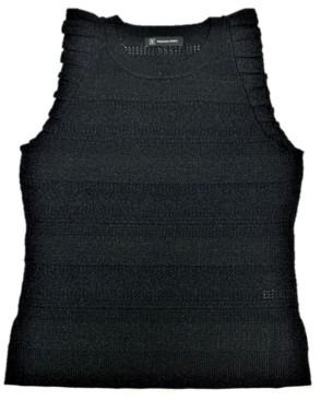 INC International Concepts Inc Ruffle-Trim Sweater, Created for Macy's
