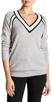 Minnie Rose Raglan Long Sleeve Cashmere Sweater