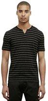 Kenneth Cole New York Men's S/s Stripe Henley