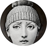 "Fornasetti Frozen Face With Hat"" Plate"