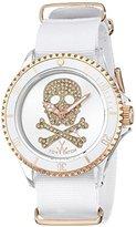 Toy Watch Unisex S04WHPG Analog Display Quartz White Watch