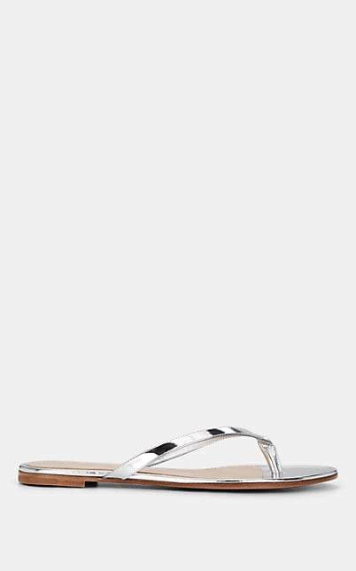 40d0fb4e19b7e Silver Ankle Wrap Sandal - ShopStyle