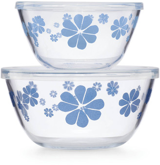 Kate Spade Nolita Blue Serve And Store Bowls, Set Of Two