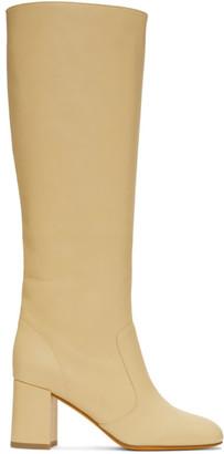 Maryam Nassir Zadeh Yellow Lune Boots