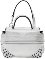 Tod's Micro Wave Metallic Leather Bag
