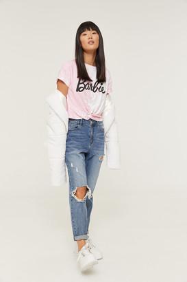 Ardene Twisted Tie-dye Barbie T-shirt