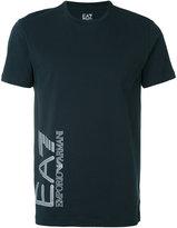 Emporio Armani logo print T-shirt - men - Cotton - XXL