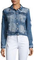 Buffalo David Bitton Distressed Denim Jacket
