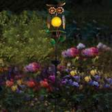 Bed Bath & Beyond Owl Solar Garden Stake