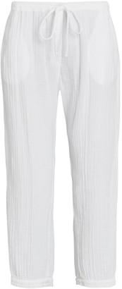 XiRENA Jak Cropped Cotton Gauze Pants