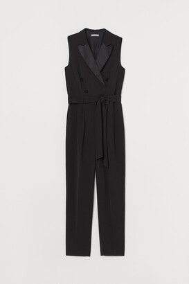 H&M Double-breasted Jumpsuit