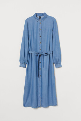 H&M Lyocell shirt dress