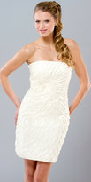 Mignon Layered Ivory Cocktail Dresses
