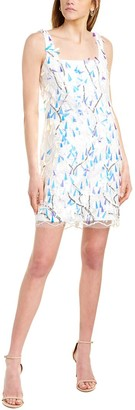 Laundry By Shelli Segal Embroidered Mini Dress