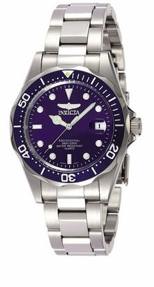 Invicta 9204 Pro Diver Unisex Wrist Watch Stainless Steel Quartz Blue Dial