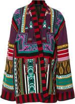 Etro Wool-Blend Cape Jacket