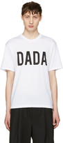 Christian Dada White Logo T-shirt