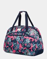 Roxy Too Far Printed Overnight Travel Bag