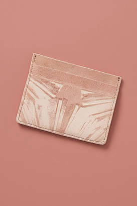 Anthropologie Penny Travel Card Case
