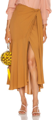 Silvia Tcherassi Fedra Skirt in Desert Sun   FWRD