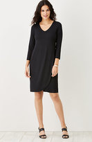 J. Jill Wearever Petal-Hem Dress