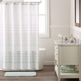 Lauren Conrad Woven Stripe Shower Curtain