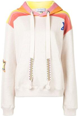 Mira Mikati Sheriff star embroidered hoodie