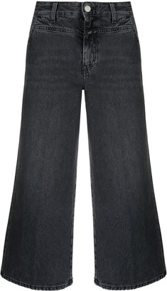 Closed Cropped Flared Jeans