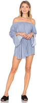 Faithfull The Brand Bisque Playsuit