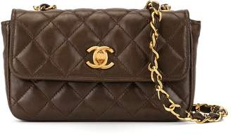 Chanel Pre-Owned 1985-1993 mini diamond quilted crossbody bag