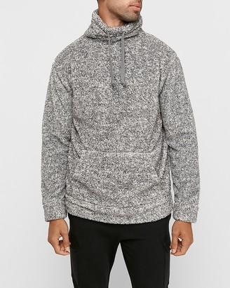 Express Sherpa Funnel Neck Sweatshirt