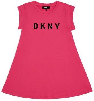 DKNY Logo Dress (6-16 Years)