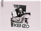 Kenzo Pink Patent Essentials Pouch