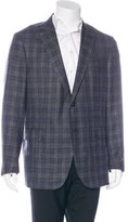 Ermenegildo Zegna Plaid Wool-Blend Sport Coat w/ Tags